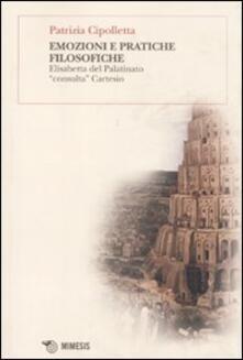 Daddyswing.es Emozioni e pratiche filosofiche. Elisabetta del Palatinato «consulta» Cartesio Image