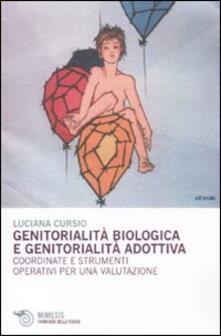 Warholgenova.it Genitorialità biologica e genitorialità adottiva. Coordinate e strumenti operativi per una valutazione Image
