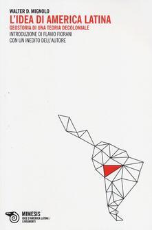 Squillogame.it L' idea di America Latina. Geostoria di una teoria decoloniale Image
