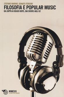 Antondemarirreguera.es Filosofia e Popular music. Da Zappa ai Beach Boys, dai Doors agli U2 Image