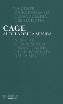 Al di là della musica - John Cage - copertina