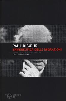 Radiospeed.it Ermeneutica delle migrazioni. Saggi, discorsi, contributi Image