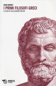 I primi filosofi greci