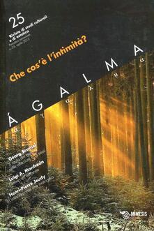 Atomicabionda-ilfilm.it Ágalma. Vol. 25: Che cos'è l'intimità?. Image