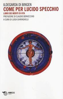 Antondemarirreguera.es Come per lucido specchio. Libro dei meriti di vita Image