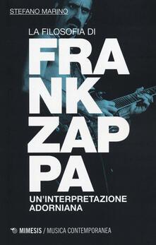 Letterarioprimopiano.it La filosofia di Frank Zappa. Un'interpretazione adorniana Image