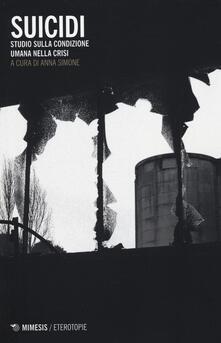 Antondemarirreguera.es Suicidi. Studio sulla condizione umana nella crisi Image