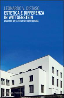 Vitalitart.it Estetica e differenza in Wittgenstein. Studi per un'estetica wittgensteiniana Image