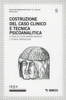 Criticalwinenotav.it Costruzione del caso clinico e tecnica psicoanalitica. Irpa Image