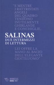 Libro Due intermezzi di lettura. Testo spagnolo a fronte Pedro Salinas