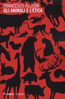 Librisulladiversita.it Gli animali e l'etica Image