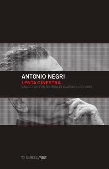 Librisulladiversita.it Lenta ginestra. Saggio sull'ontologia di Giacomo Leopardi Image