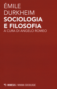 Libro Sociologia e filosofia Émile Durkheim