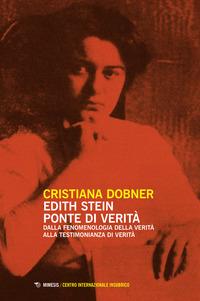 Edith Stein ponte di verità - Dobner Cristiana - wuz.it
