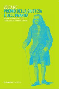 Premio della giustizia e dell'umanità - Voltaire - copertina