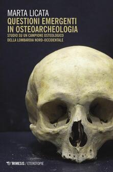 Filippodegasperi.it Questioni emergenti in osteoarcheologia. Studio su un campione osteologico della Lombardia nord-occidentale Image