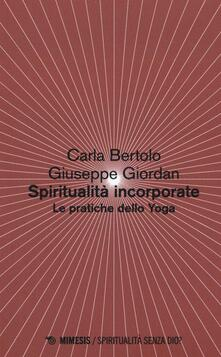 Filippodegasperi.it Spiritualità incorporate. Le pratiche dello yoga Image