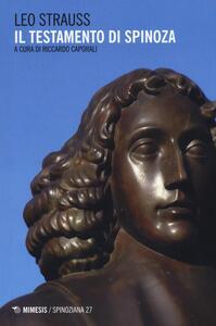 Il testamento di Spinoza