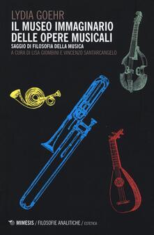 Cocktaillab.it Il museo immaginario delle opere musicali. Saggio di filosofia della musica Image