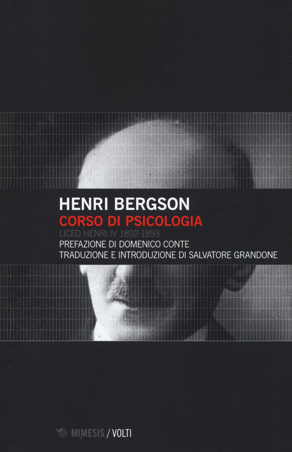 Risultati immagini per Henri bergson corso di psicologia