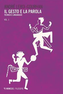 Radiospeed.it Il gesto e la parola. Vol. 1: Tecnica e linguaggio. Image