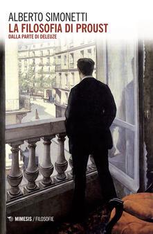 Nicocaradonna.it La filosofia di Proust. Dalla parte di Deleuze Image