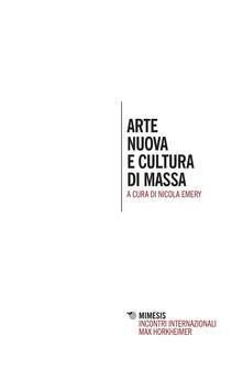 Arte nuova e cultura di massa
