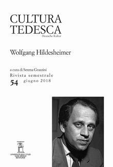Camfeed.it Cultura tedesca (2018). Vol. 54: Wolfgang Hildesheimer. Image