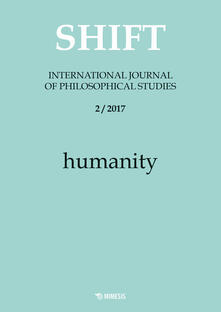 Ristorantezintonio.it Shift. International journal of philosophical studies (2017). Vol. 2: Humanity. Image