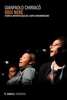 Winniearcher.com Voci nere. Storia e antropologia del canto afroamericano Image
