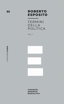 Listadelpopolo.it Termini della politica. Vol. 1: Comunità, immunità, biopolitica. Image