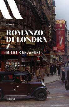 Romanzo di Londra - Milos Crnjanski - copertina