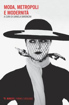 Moda, metropoli e modernità - copertina
