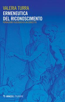 Promoartpalermo.it Ermeneutica del riconoscimento. Fondazione filologica di un concetto Image