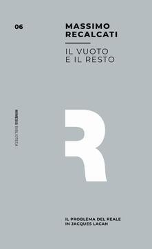 Antondemarirreguera.es Il vuoto e il resto. Il problema del reale in Jacques Lacan Image