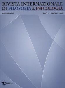 Winniearcher.com Rivista internazionale di filosofia e psicologia (2019). Vol. 1 Image