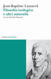 Copertina  Filosofia zoologica e altri naturalia