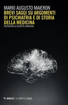 Ristorantezintonio.it Brevi saggi su argomenti di psichiatria e di storia della medicina Image