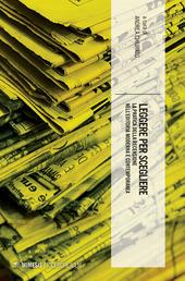 Copertina  Leggere per scegliere : la pratica della recensione nell'editoria moderna e contemporanea
