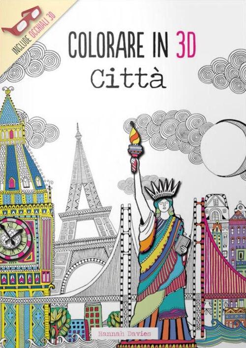 Città. Colorare in 3D. Con gadget