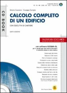 Mercatinidinataletorino.it Calcolo completo di un edificio con esecutivi di cantiere. Con CD-ROM Image