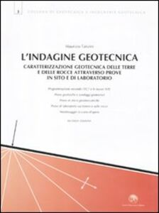 L' indagine geotecnica