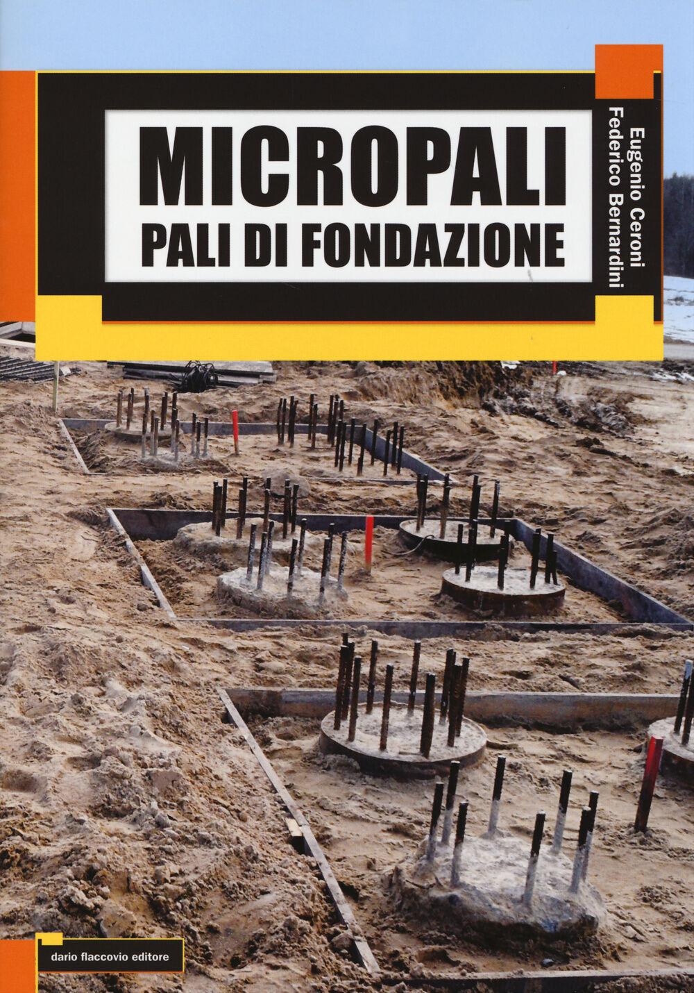 Micropali. Pali di fondazione