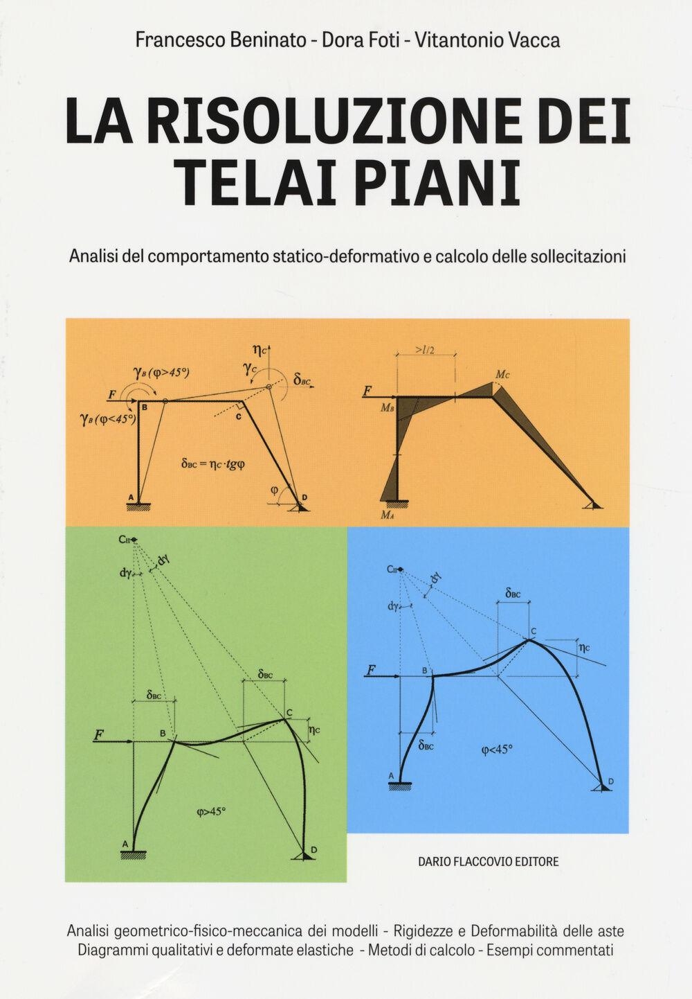La risoluzione dei teali piani. Analisi del comportamento statico-deformativo e calcolo delle sollecitazioni