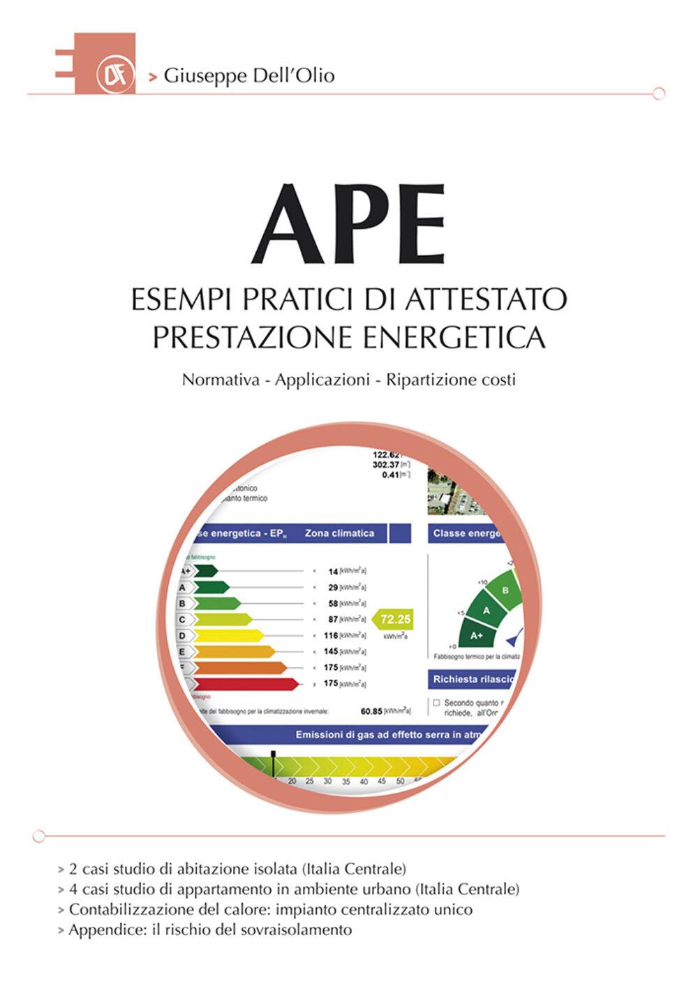 APE esempi pratici di attestato prestazione energetica