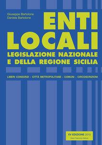 Enti locali. Legislazione nazionale e della Regione Sicilia