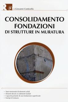 Promoartpalermo.it Consolidamento fondazioni di strutture in muratura Image