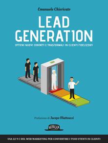 Camfeed.it Lead generation. Ottieni nuovi contatti e trasformali in clienti fidelizzati Image