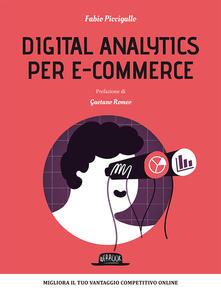 Digital analytics per e-commerce - Fabio Piccigallo - copertina