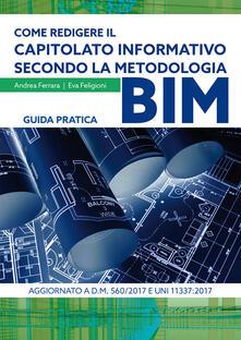 Voluntariadobaleares2014.es Come redigere il capitolato informativo secondo la metodologia BIM. Guida pratica Image